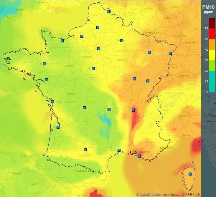 Image d'illustration pour Pollution aux particules fines : la qualité de l'air se dégrade