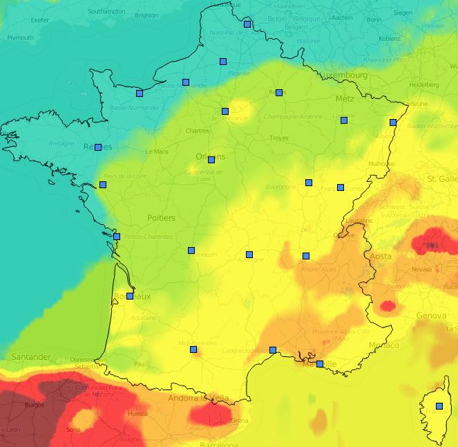 Image d'illustration pour Bilan des pics de pollution à l'ozone du 15 au 18 juillet