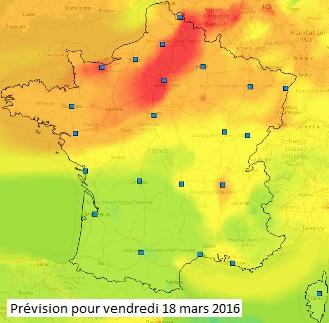 Image d'illustration pour Qualité de l'air dégradée par une pollution aux particules fines