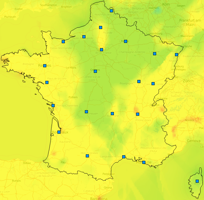Image d'illustration pour Qualité de l'air dégradée par la pollution aux particules fines