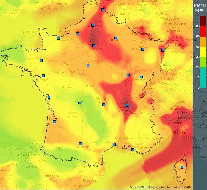 Image d'illustration pour Pollution aux particules fines - Circulation alternée à Paris