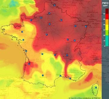 Image d'illustration pour Episode de pollution aux particules jusqu'en fin de semaine