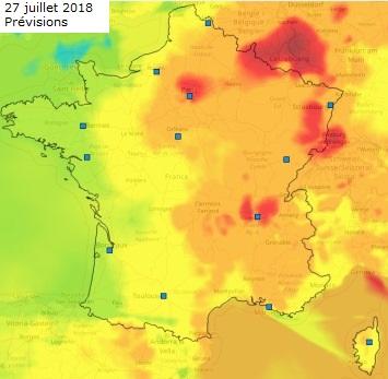 Image d'illustration pour Vague de chaleur voire canicule en dernière semaine de juillet