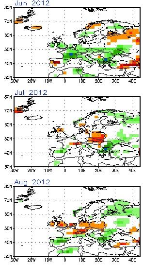 Image d'illustration pour Après un printemps maussade, l'été 2012 sera-t-il chaud ?
