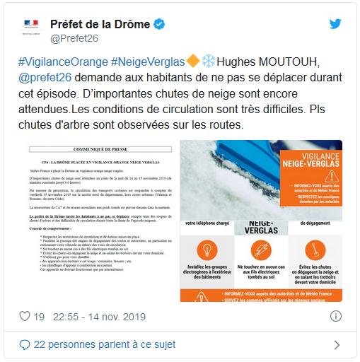 Image d'illustration pour Retour en force de la neige en France