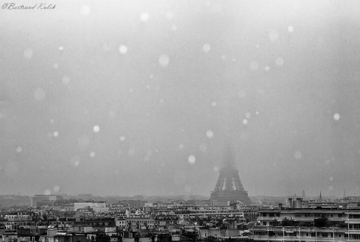 Image d'illustration pour Premier gel sous abri et premiers flocons à Paris
