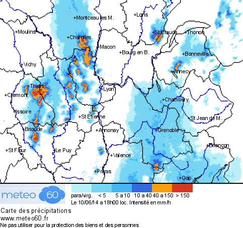 Image d'illustration pour Orages forts en Rhône-Alpes, Franche Comté et Alsace