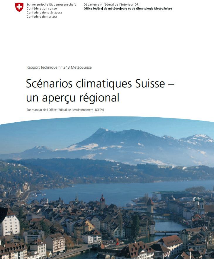 Image d'illustration pour Météo-Suisse : Aperçu des scénarios climatiques d'ici 2050
