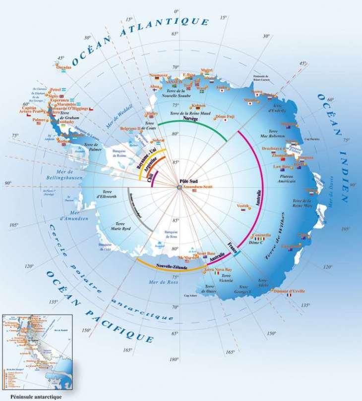 Image d'illustration pour L'OMM confirme les records de douceur en Antarctique