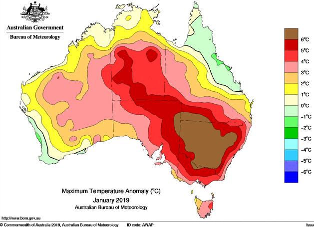 Image d'illustration pour Records de chaleur dans l'hémisphère Sud
