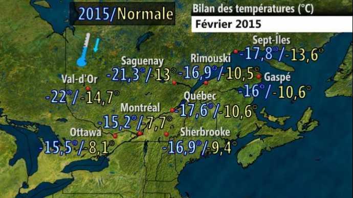 Image d'illustration pour Record : le mois de février le plus froid de l'histoire au Québec