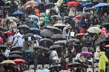 Image d'illustration pour La météo des internationaux de tennis de Roland Garros