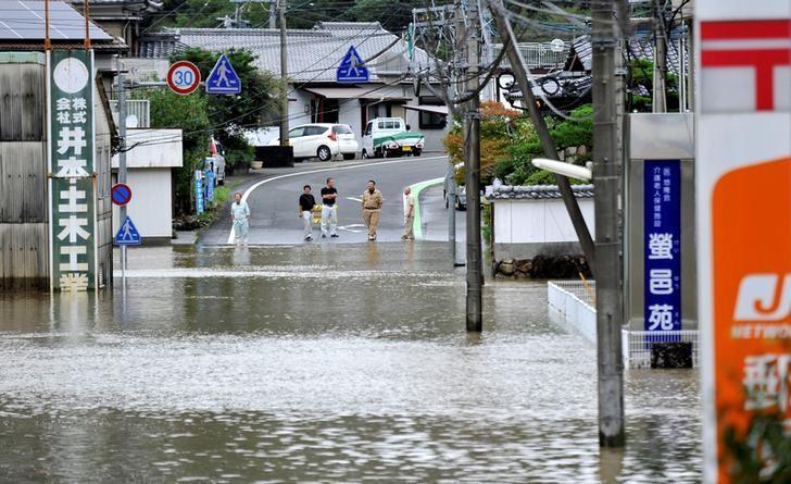 Image d'illustration pour Le typhon Malakas frappe le Japon