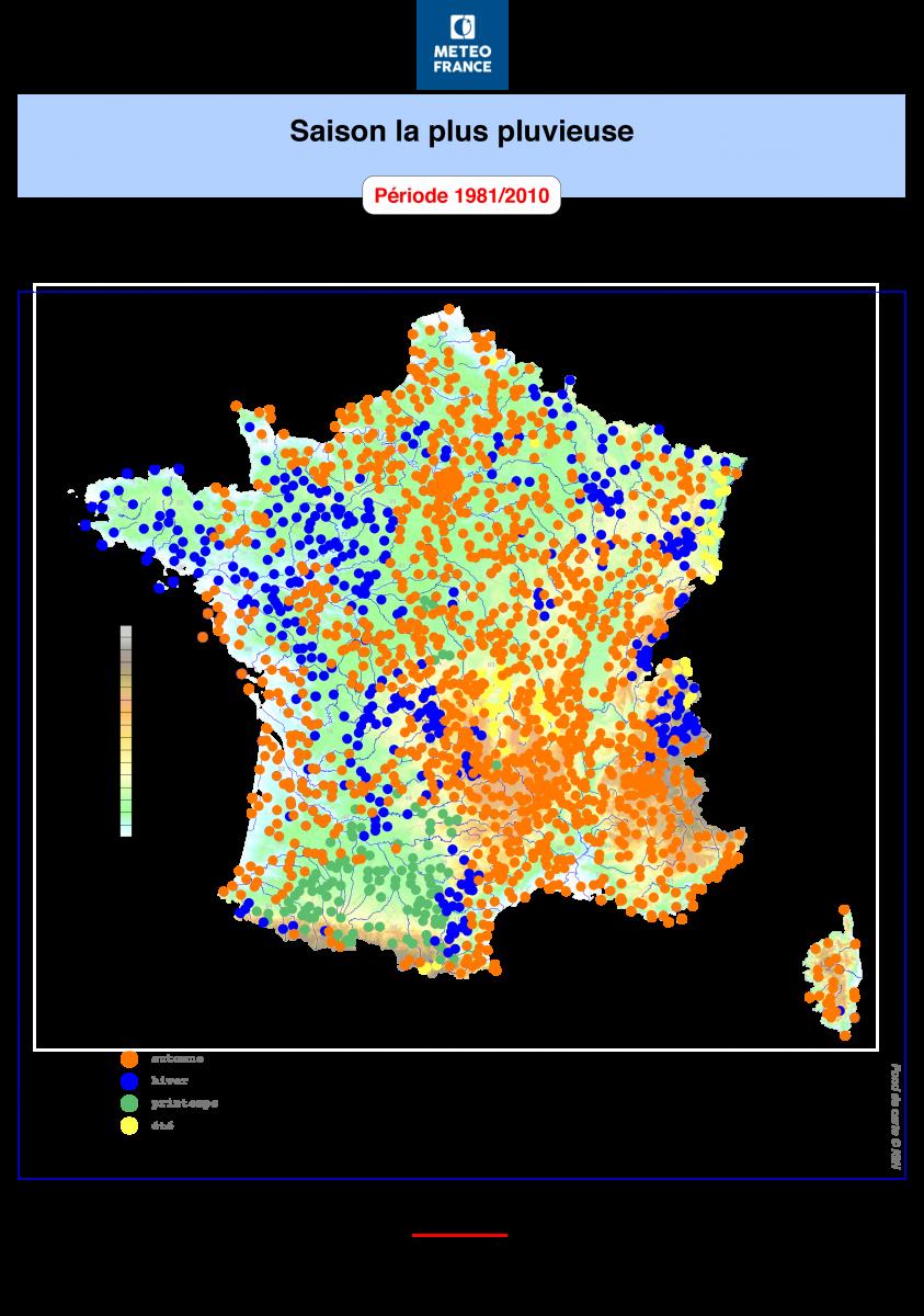 Image d'illustration pour Humidité : pluies abondantes sur la France, des records sur l'Aquitaine