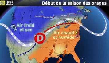 Image d'illustration pour Saison des orages et des tornades aux Etats-Unis