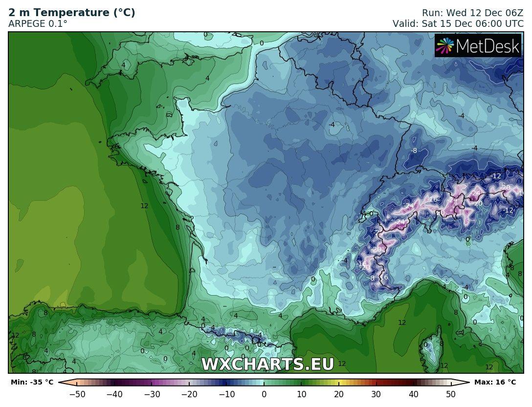 Image d'illustration pour Retour du froid et des gelées pour cette mi-décembre