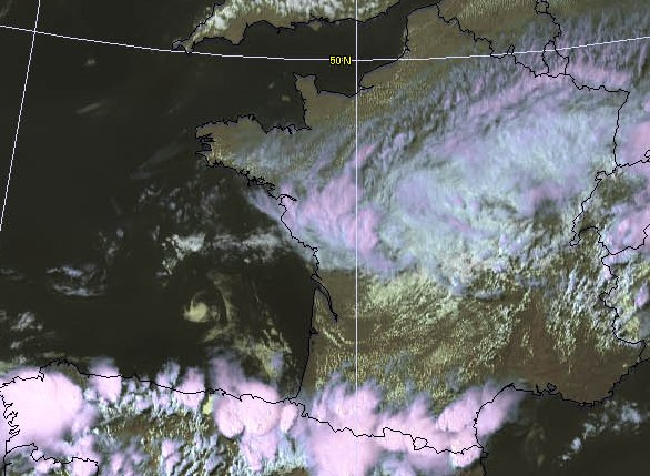 Image d'illustration pour Orage fort en Aquitaine et Midi-Pyrénées - pluie diluvienne vers Toulouse