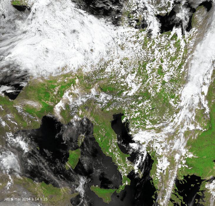 Image d'illustration pour Ascension : temps médiocre pour les jours fériés et ponts de mai