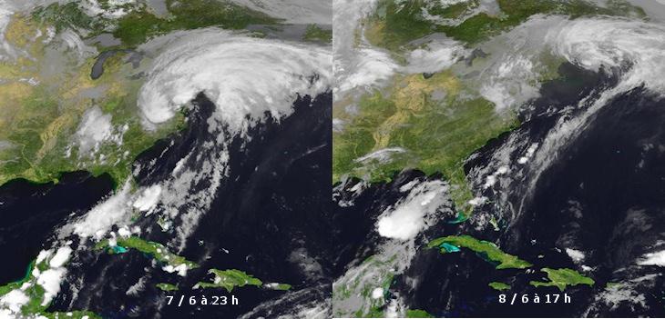 Image d'illustration pour Ex tempête tropicale Andrea (Etats Unis - Canada)
