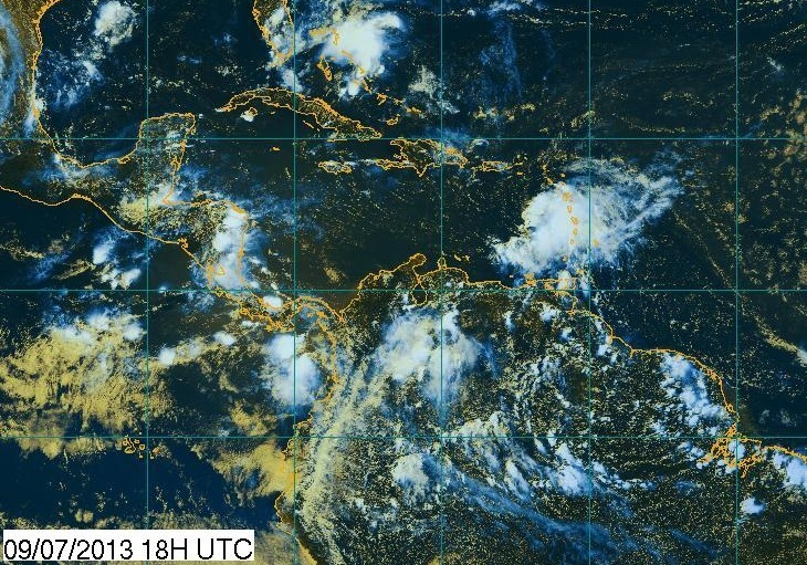 Image d'illustration pour Passage de Chantal : dégâts en Martinique