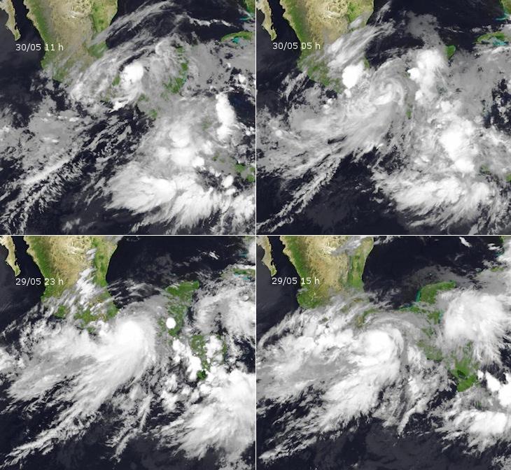 Image d'illustration pour L'ex-ouragan Barbara s'éloigne du Mexique