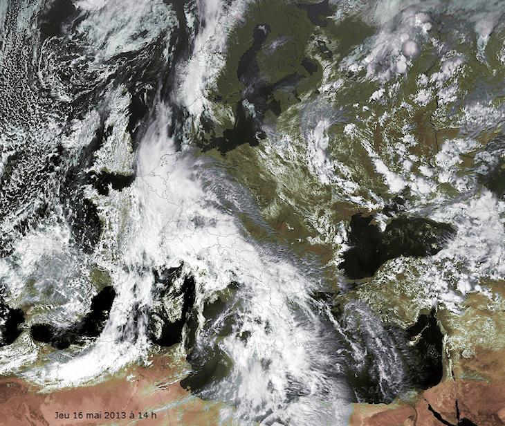 Image d'illustration pour Toujours une Europe météo à deux vitesses (sat)