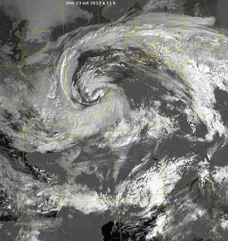 Image d'illustration pour Fortes pluies sur le Nord-Pas-de-Calais et la Picardie (vigilance)