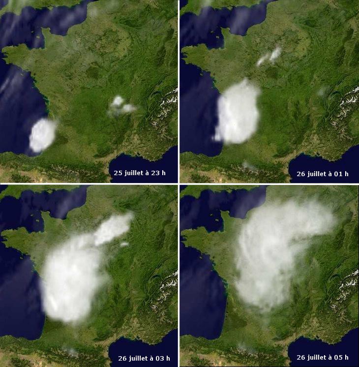 Image d'illustration pour Orages du Sud-Ouest au Nord-Est (vigilance)