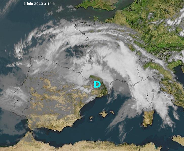 Image d'illustration pour Fortes pluies et risque d'inondations dans le Sud Ouest