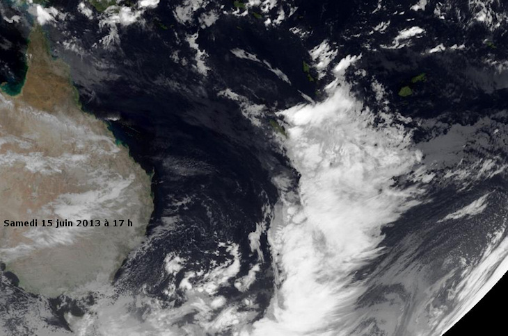 Image d'illustration pour Outre-Mer : Fortes pluies en Nouvelle Calédonie