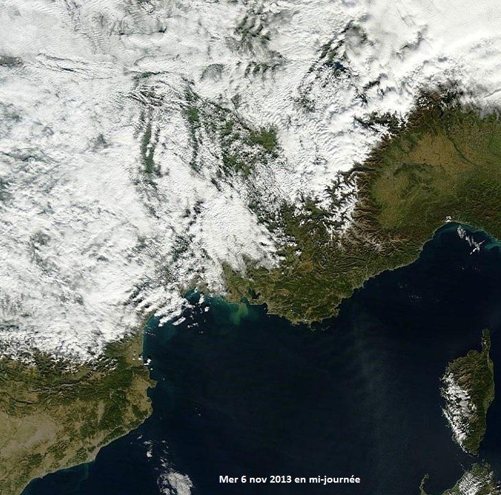 Image d'illustration pour Douceur : effet de foehn remarquable sur les Alpes du Sud