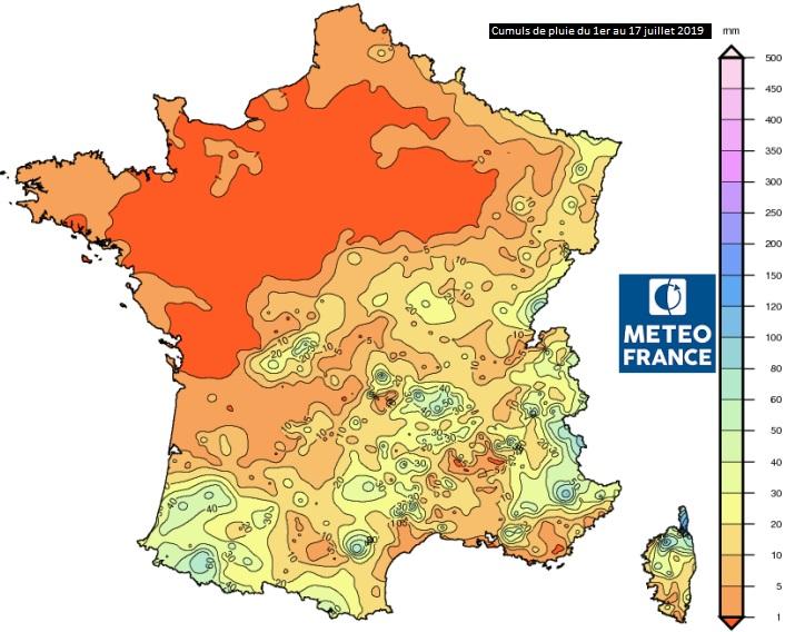 Image d'illustration pour La sécheresse gagne du terrain