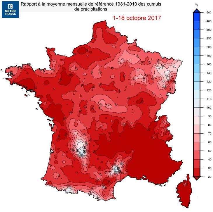 Image d'illustration pour Des arrêtés sécheresse sur plus de la moitié de la France