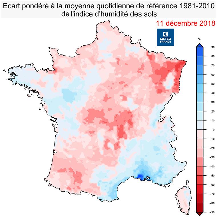 Image d'illustration pour Sécheresse 2018 : 12 départements en calamité agricole