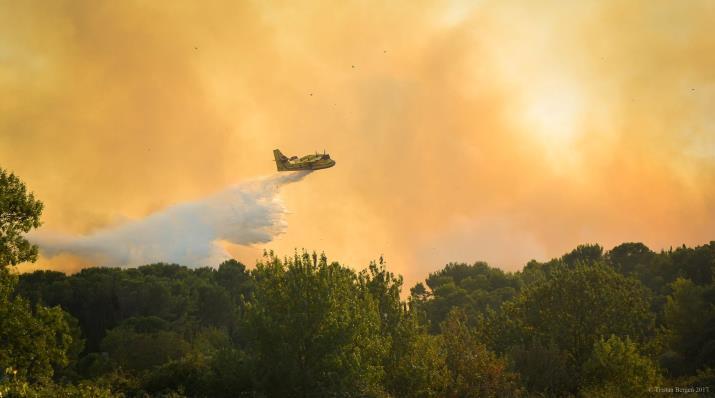 Image d'illustration pour Sécheresse, vent & incendies sur le bassin méditerranéen