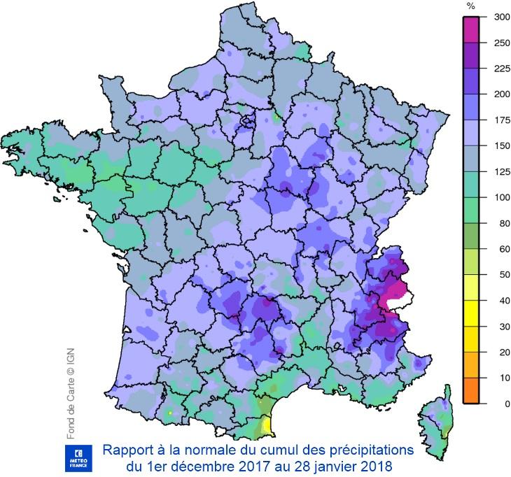Image d'illustration pour Pluie & inondations - Quid de la sécheresse ?