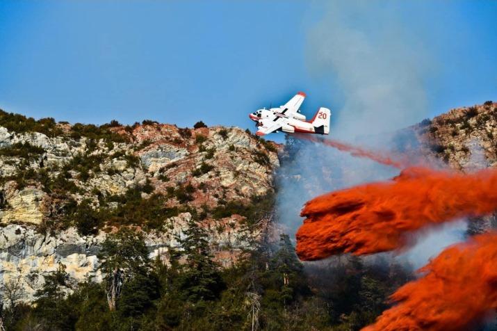 Image d'illustration pour Déficit de pluie record, sécheresse & incendies au Sud-Est