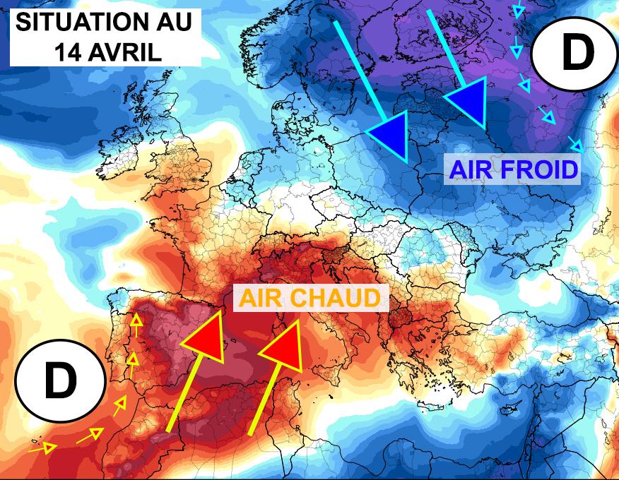 Carte De Leurope Meteo.Hiver Ou Ete L Europe Face Aux Contrastes De Temperature 15