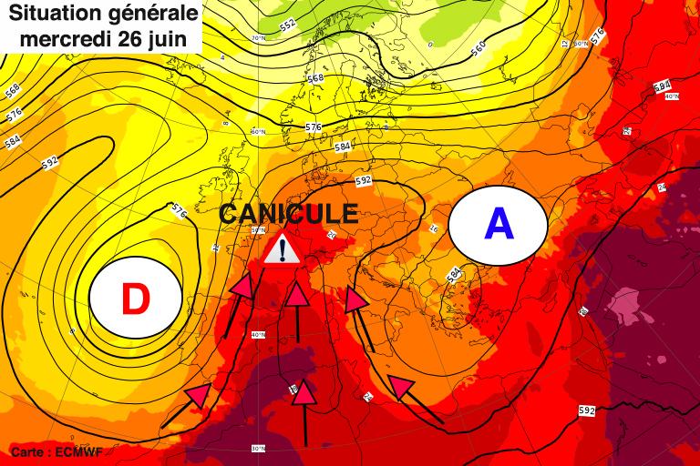 Image d'illustration pour Canicule exceptionnelle à venir, d'intensité comparable à 2003 !
