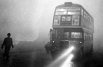 Image d'illustration pour Le grand smog de Londres en décembre 1952