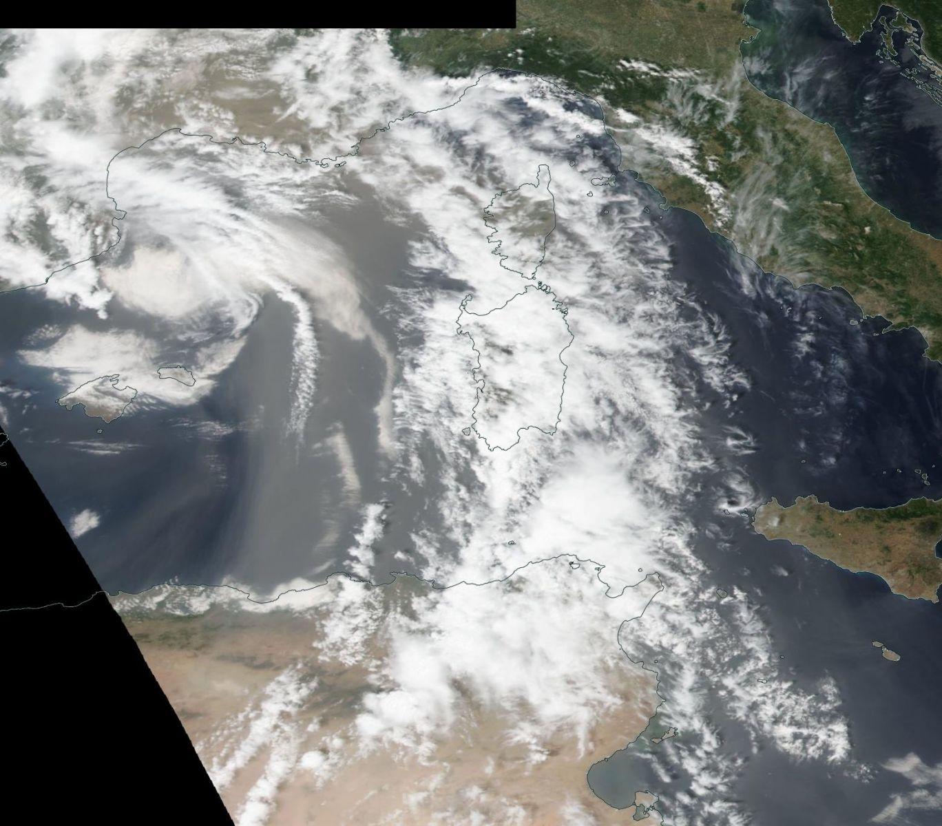 Image d'illustration pour Nouveau coup de Sirocco : jusqu'à 40°C à Ajaccio !
