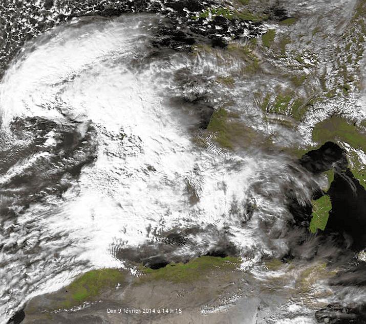 Image d'illustration pour Dépression Stéphanie - pluie et vent fort au Sud