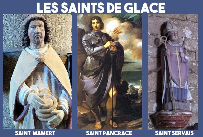Image d'illustration pour Le retour du froid ... pour les Saints de Glace !