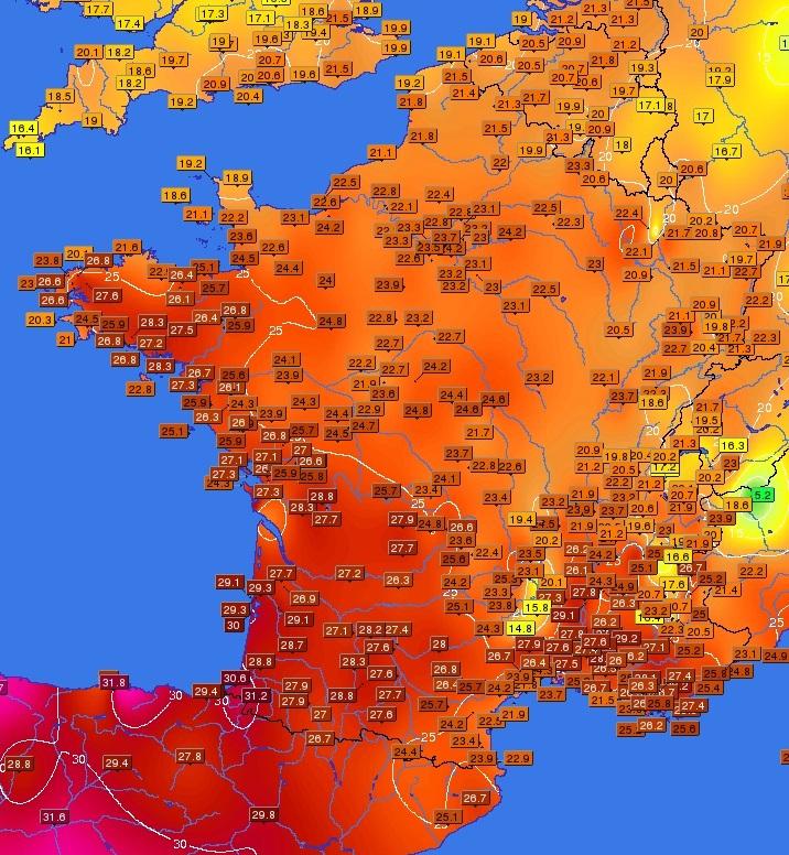 Image d'illustration pour Soleil sur toute la France