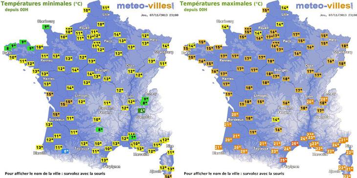 Image d'illustration pour Records mensuels de douceur en Charente Maritime