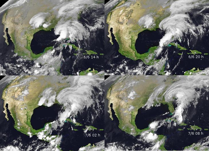 Image d'illustration pour Tempête Andrea - Floride - Etats Unis - Canada