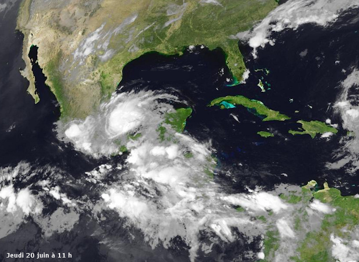 Image d'illustration pour Ex tempête tropicale Barry (Mexique - Honduras - Belize)