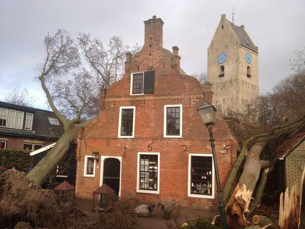 Image d'illustration pour Tempête Christian sur le Benelux (Belgique & Pays-Bas)