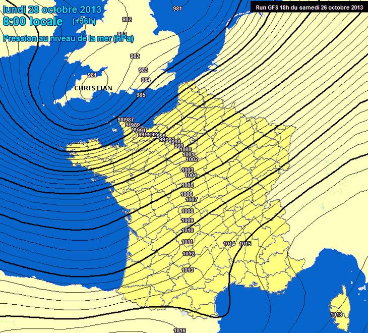 Image d'illustration pour Vers une tempête en Manche (France - Angleterre)
