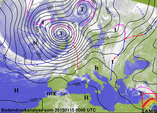 Image d'illustration pour Synthèse du passage de la tempête Hermann